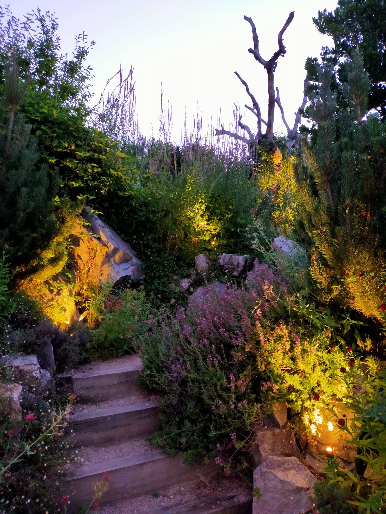 Jardines vivienda particular Ciudalcampo