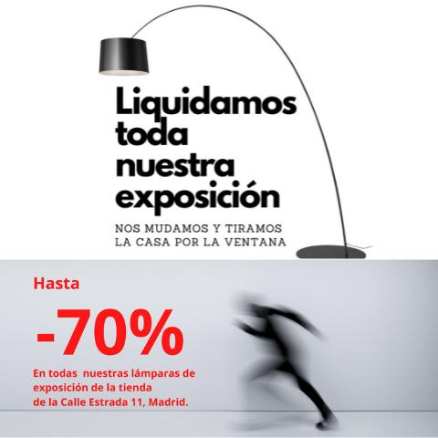 ?Liquidamos Todas Nuestras Lámparas En Exposición -70%