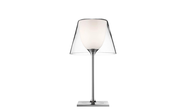 Ktribe K1 Glass, de Flos. Cuatro niveles de regulación. Diseño de Philippe Starck.