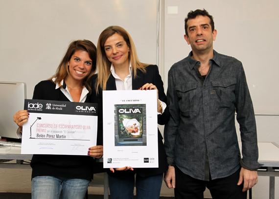 Belén Pérez Martín, Raquel Oliva y Raúl Oliva.
