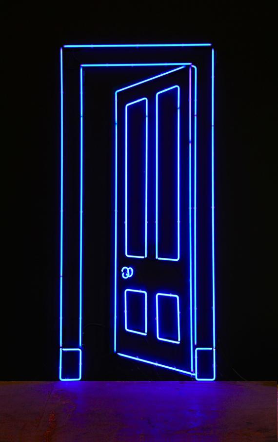 PORT (BLUE) 2012. Gavin Turk (gavinturk.com).
