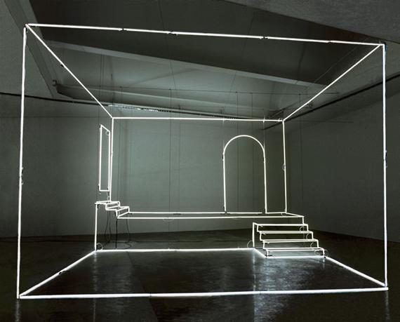 Instalación lumínica por Massimo Uberti (massimouberti.it) 2014.