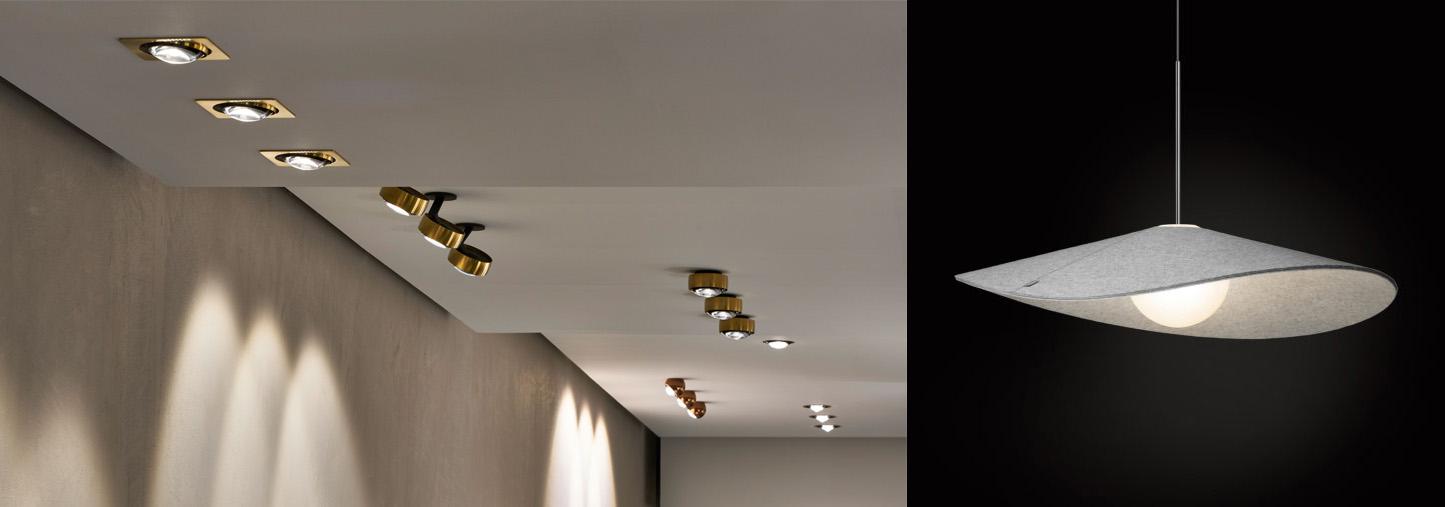 Nuevas propuestas decorativas: Occhio (izquierda) y Pablo (derecha)