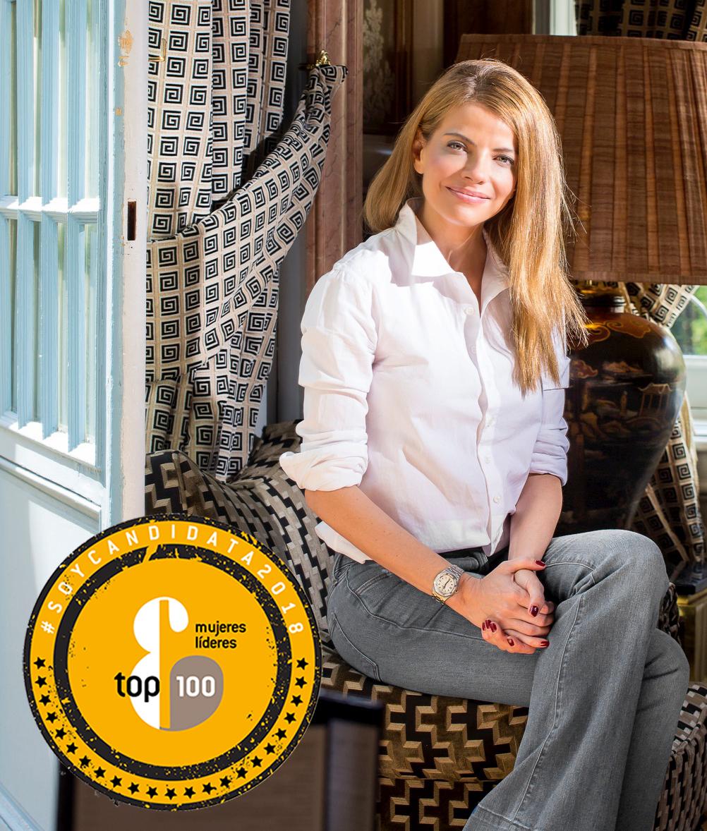 Raquel Oliva, vicepresidenta de Oliva Iluminación, candidata a las Top 100 Mujeres Líderes 2018