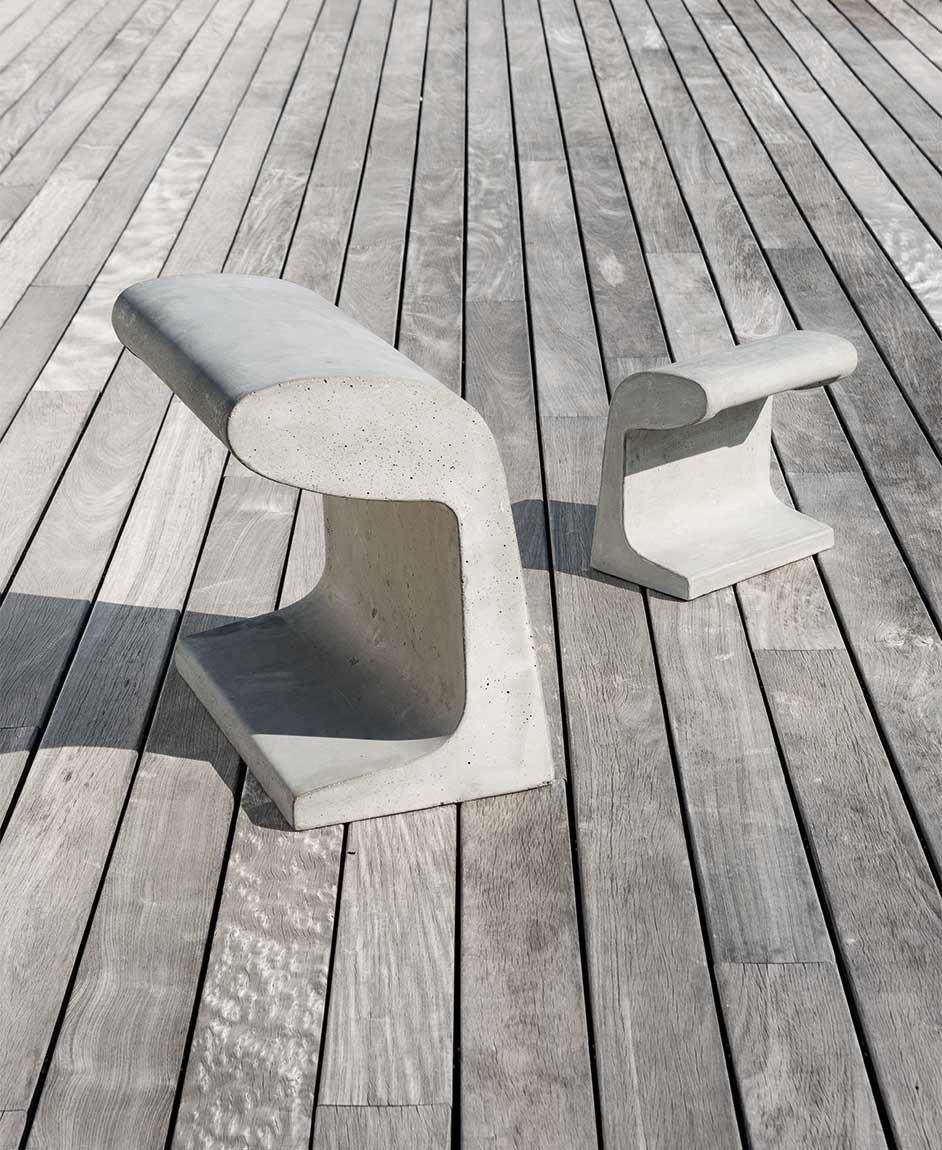 Borne Betón de Le Corbusier, 1952 (Nemo)